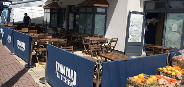 Family Friendly BBQ Venue Tramyard Kitchen Opens Today in Greystones