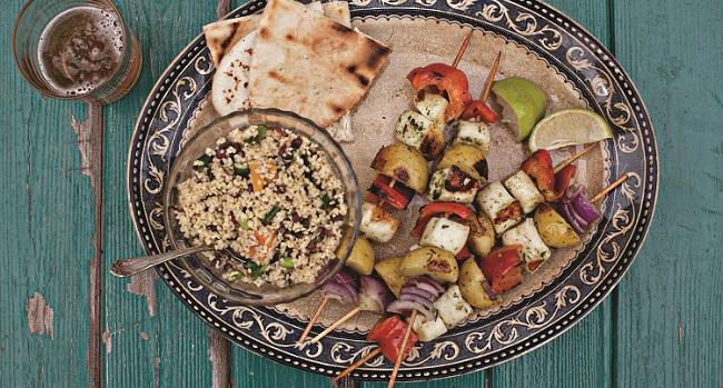 vegetable kebabs recipe