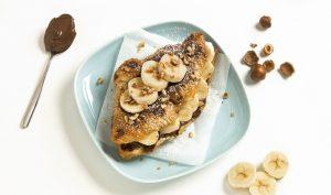 Bannana & Nutella Croffle La Petite Boulangerie by Cuisine de France