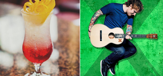 Guess what's in the Ed Sheeran Cocktail Created by The Front Door Pub in Galway