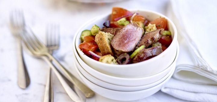 Lamb Panzanella Recipe TastyEasyLamb