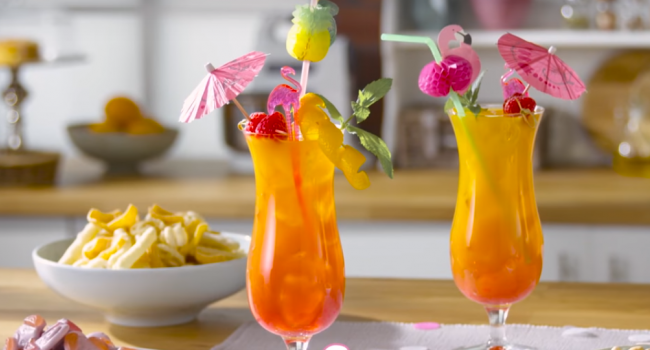 Percy Pig Cocktail