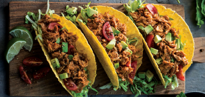 Simply Better Pulled Chicken Tacos Recipe