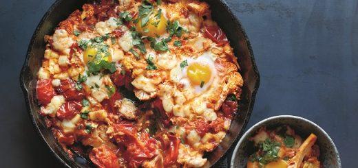 eggs recipe with cauliflower manchego