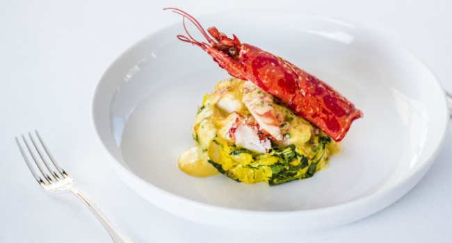 Lobster Bisque With Saffron | Lobster House
