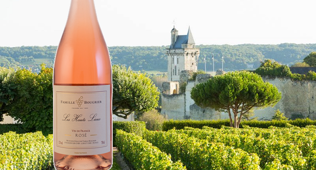 Bougrier VDF Les Hauts Lieux Rose 2016 - Wine of the Week from O'Briens