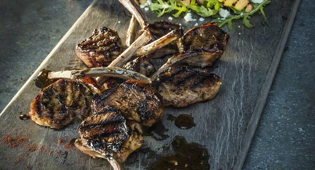 Connemara Hill Lamb Cutlets Recipe with Garlic, Lemon & Smoked Paprika