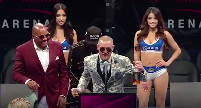 """Conor McGregor Introduces Notorious: """"I'm Going to Take Over the Irish Whiskey Market"""""""