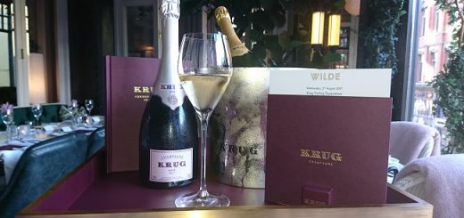 WILDE Teams Up with Krug to Introduce a Unique Champagne Dining Experience