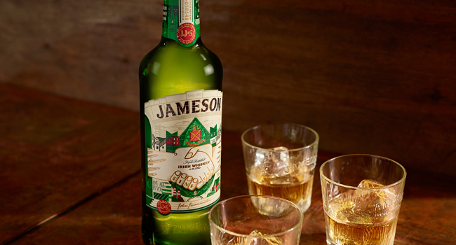 Global Sales of Jameson Irish Whiskey Keep Growing for the 28th Consecutive Year