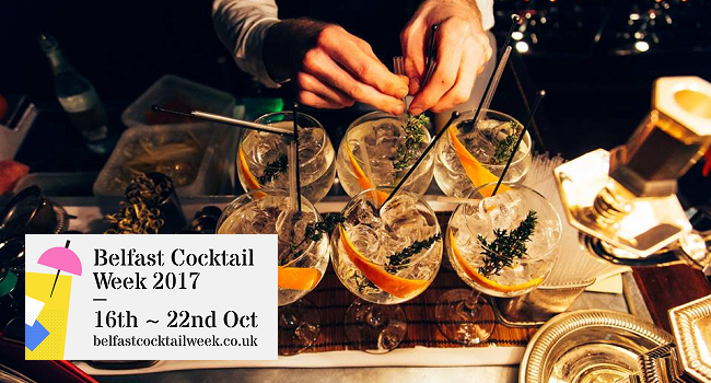 Belfast Cocktail Week to Showcase the Best of the City Bartending Scene this October