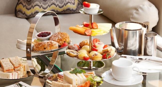 Herbet Park Hotel Sparking Afternoon Tea