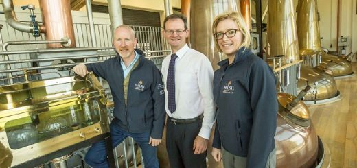 Worldwide Recognition and a Student Bursary from Walsh Whiskey Distillery for Ireland's First Degree in Brewing and Distilling