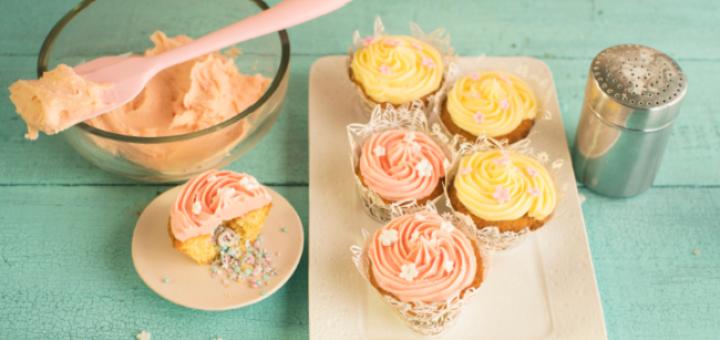 Siúcra x Catherine Fulvio Pinata Cupcakes Recipe.