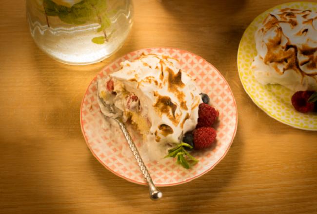 Siúcra x Catherine Fulvio Baked Alaska Recipe.