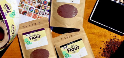 The Grape Boozy Bake Off Wine Flour is Now a Thing