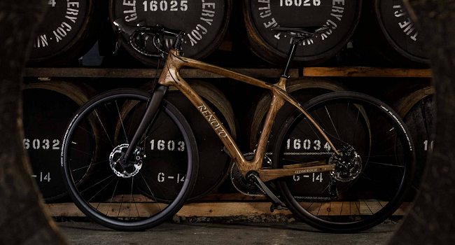 Cycle Against the Grain with this Beautiful Bike Made from Whisky Barrels   Glenmorangie Original whisky bicycle