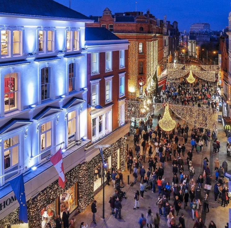 Dublin At Christmas Lights 4