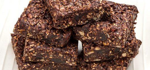 Vegan Chocolate Seed Bars recipe