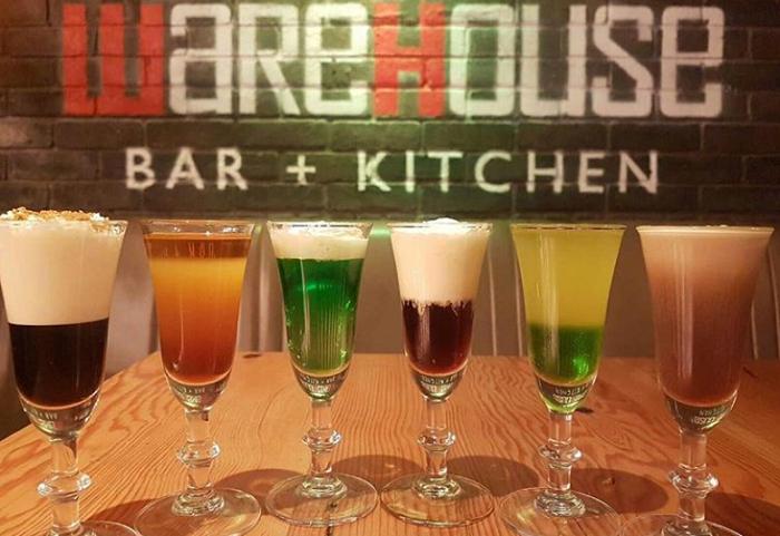creative cocktail menus warehouse