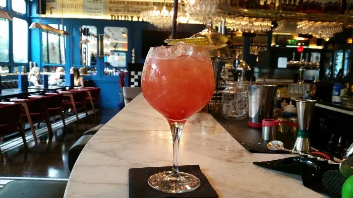 creative cocktail menus zozimus