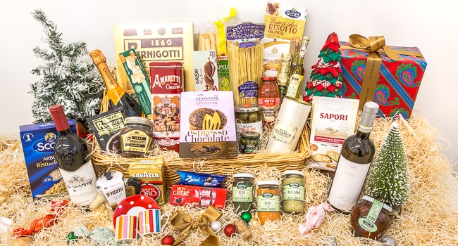 Win A Festive Hamper With The Finest Italian Flavours And Wine From