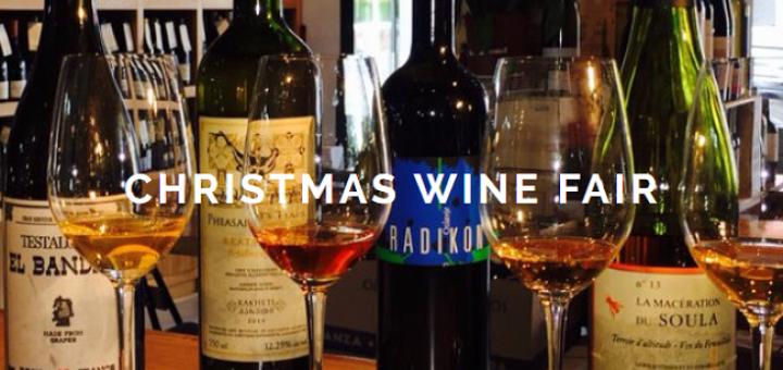 Green Man Wines Christmas Fair 2