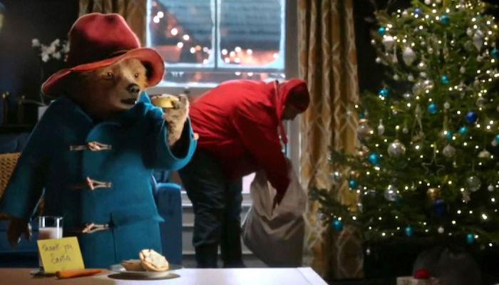Marks & Spencer Christmas Ad Paddington Bear
