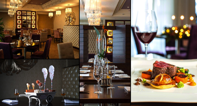 A 3 course dinner and a bottle of wine for 2 people at 5 for Five star boutique