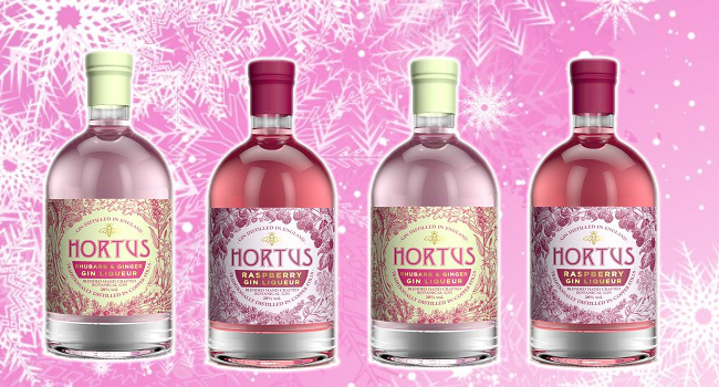 There's a Newly Launched Range of Christmas Gin Liqueurs, and they're Pink!