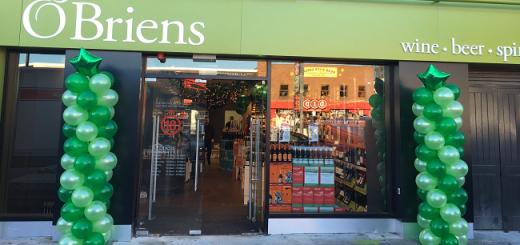O'Briens Wine Newest Shop Opens Today in Stillorgan