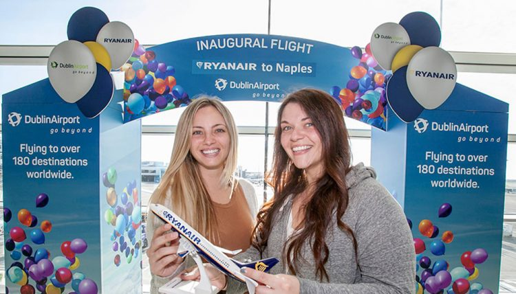 Ryanair Launches Three New Routes