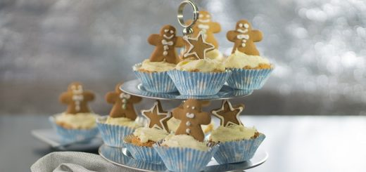 Gingerbread Cupcakes Recipe by Siúcra & Catherine Fulvio