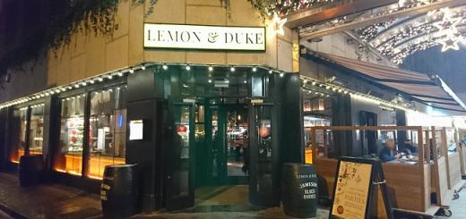 Lemon & Duke Bar Review