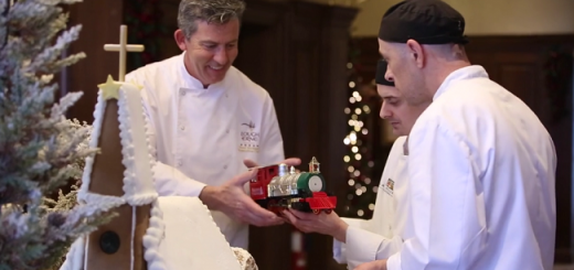 Watch: The Team at Lough Erne Resort Built Ireland's Most Beautiful Gingerbread House