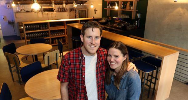 Barry Fitzgerald and Claremarie Thomas, owners of Bastible restaurant, Portobello, Dublin. Photograph Nick Bradshaw
