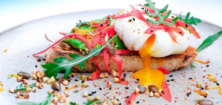 Poached egg & toast recipe
