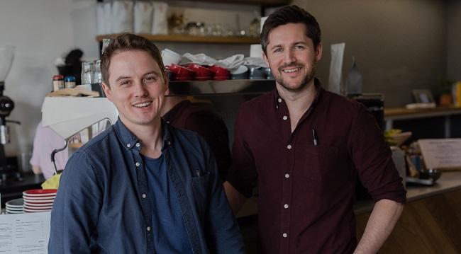 Taurean Coughlan & Kevin Roche wo boys brew GCN Magazine