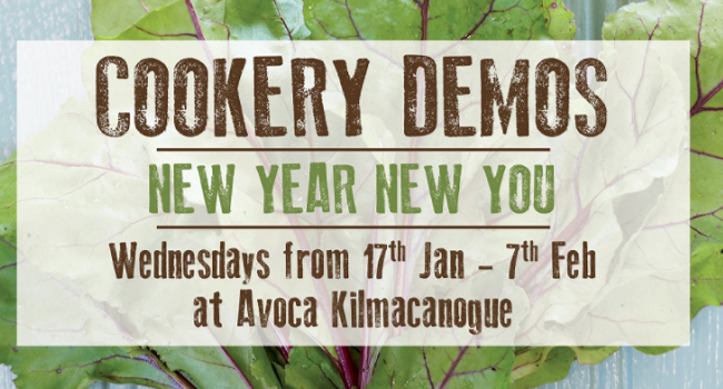 Looking for Inspiration for Healthier Eating? These cookery Demos are a Must-Try