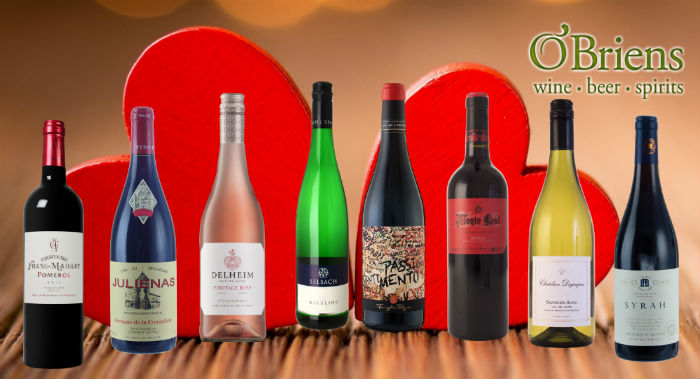 O'Briens Wine's February Sale Features Over 70 Wines to Fall in Love with