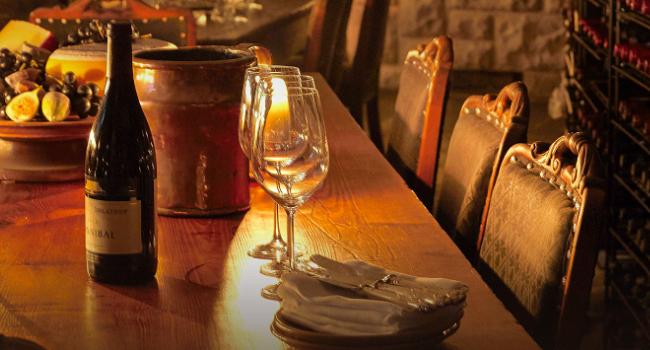 ashford castle wine dinner