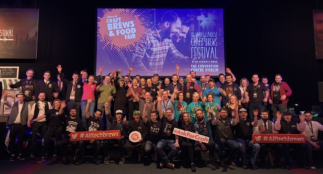 Beer Enthusiasts Encouraged to #AskForCraft at the Alltech Brews Fair and Beyond
