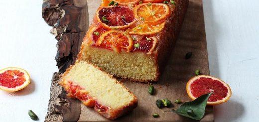 Blood orange buttermilk loaf recipe