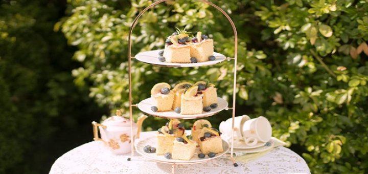 Blueberry Poke Cake