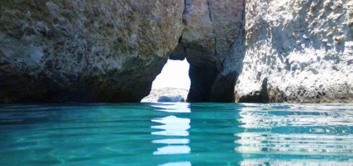 Secret Beach Cave