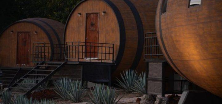 Rustic Barrel Hotel
