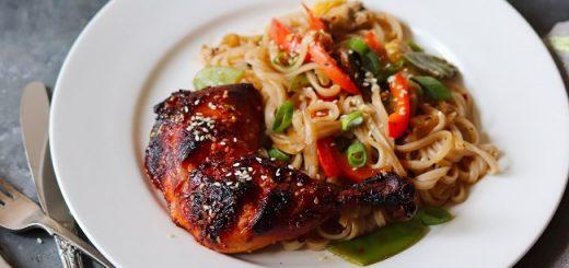 Sriracha & Honey Grilled Chicken Recipe