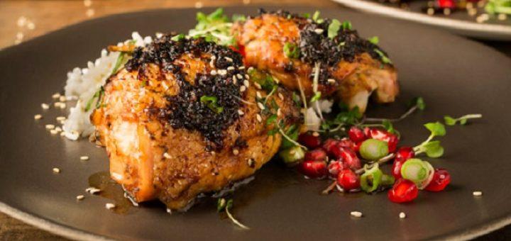 Thai Sticky Chicken Recipe