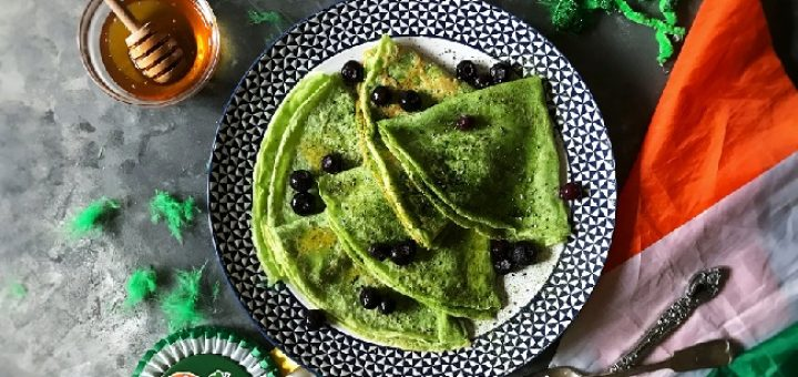 Matcha Crepes Recipe by Soulful and Healthy