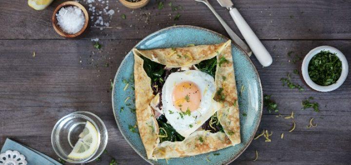 Siúcra x Catherine Fulvio's Ham and Brie Breakfast Galette Recipe